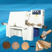 Machine to produce boards for pallets and crates