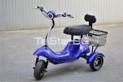 Eлектрическа триколка TS 350-1+ 48V 500W с двойна седалка с облегалка