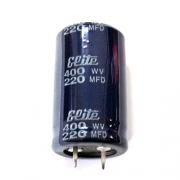 Кондензатор 220мF/400V ELITE