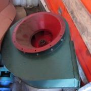 Industrial dust fan