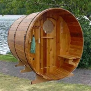 Thumb Sauna Barrel Lake