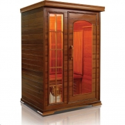 Infrared sauna with 2 places