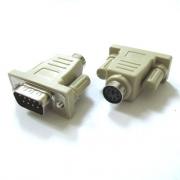 Конектор XYA018 MINI DIN6F/DB9M