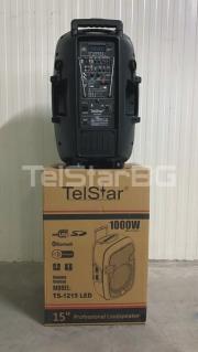 Тонколона за караоке 15'' TS-1215BT-IBW(LED) 1000W