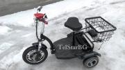Електрическа триколка 500W С Големи задни гуми,  Големи предни гуми , Лети Джанти