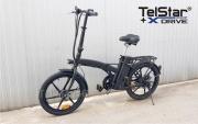 Сгъваем електрически скутер- велосипед E- BIKE PL-010 350W НОВ МОДЕЛ