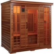 Infrared sauna with 4 places
