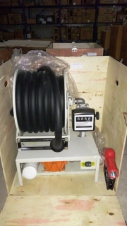 Помпа диспенсер за гориво и агресивни течности HRF-1115-D с брояч