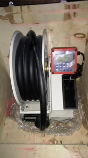 Помпа диспенсер за гориво и агресивни течности HRF3415 с брояч