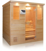 Finnish sauna with 6 places
