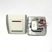 Единичен девиаторен ключ с индикация